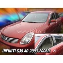 Ветробрани за Infiniti G35 от 2003-2006 година - Heko