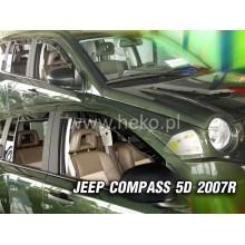 Ветробрани за Jeep Compass от 2007 година - Heko