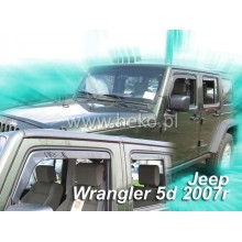 Ветробрани за Jeep Wrangler TJ от 1996-2007 година - Heko
