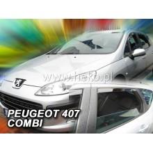 Ветробрани за Peugeot 407 от 2004 година - Heko