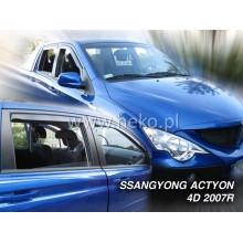 Ветробрани за Ssangyong Actyon Sports от 2007 година - Heko