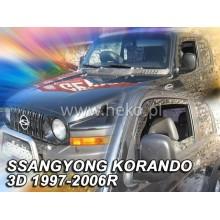 Ветробрани за Ssangyong Korando от 1997-2006 година - Heko