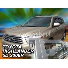 Ветробрани за Toyota Highlander от 2008 година - Heko